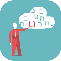 files in the cloud